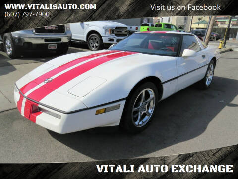 1988 Chevrolet Corvette for sale at VITALI AUTO EXCHANGE in Johnson City NY