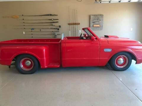 1967 Chevrolet C/K 10 Series for sale at Classic Car Deals in Cadillac MI
