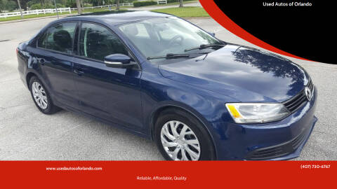 2011 Volkswagen Jetta for sale at Used Autos of Orlando in Orlando FL