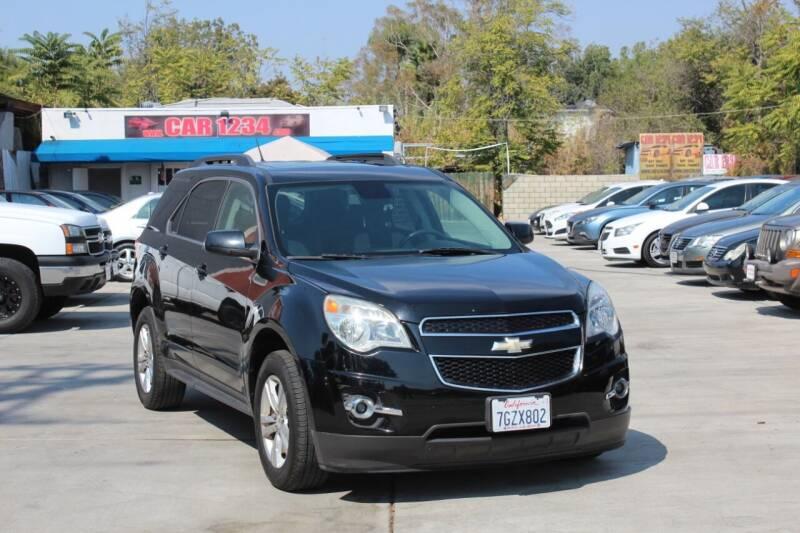 2013 Chevrolet Equinox for sale at Car 1234 inc in El Cajon CA