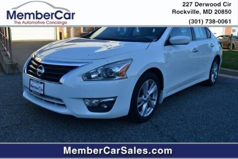 2015 Nissan Altima for sale at MemberCar in Rockville MD