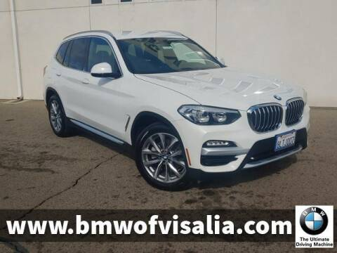 2019 BMW X3 for sale at BMW OF VISALIA in Visalia CA