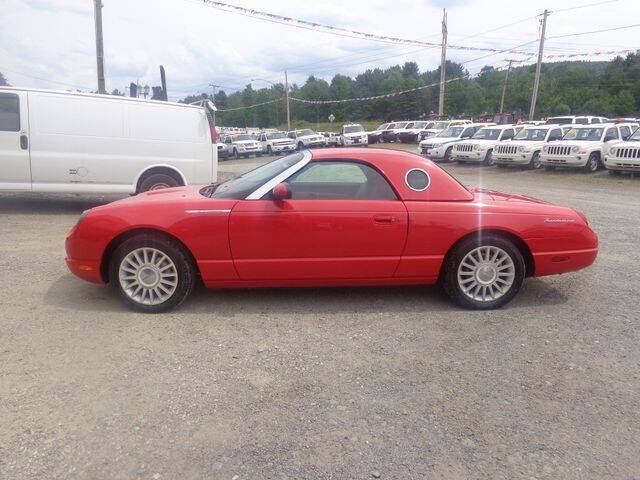 2005 Ford Thunderbird for sale at Upstate Auto Sales Inc. in Pittstown NY