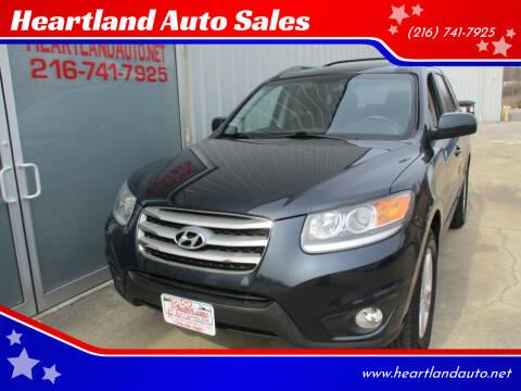 2012 Hyundai Santa Fe for sale at Heartland Auto Sales in Medina OH