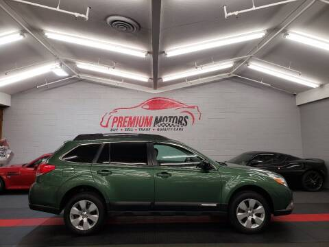 2011 Subaru Outback for sale at Premium Motors in Villa Park IL