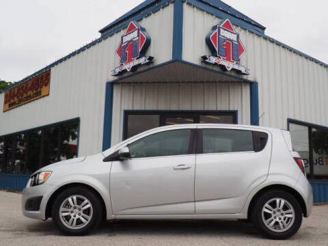 2012 Chevrolet Sonic for sale at DRIVE 1 OF KILLEEN in Killeen TX
