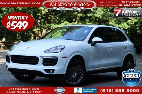 2018 Porsche Cayenne for sale at European Masters in Great Neck NY