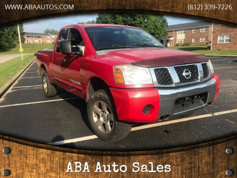 2006 Nissan Titan for sale at ABA Auto Sales in Bloomington IN