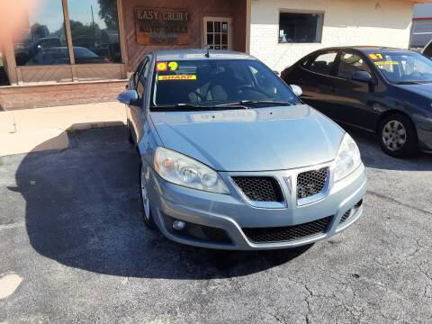 2009 Pontiac G6 for sale at Easy Credit Auto Sales in Cocoa FL