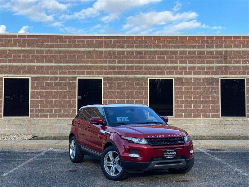 2013 Land Rover Range Rover Evoque for sale at A To Z Autosports LLC in Madison WI