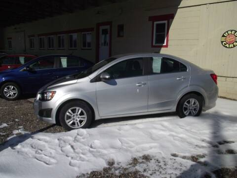 2015 Chevrolet Sonic for sale at Country Truck and Car Lot II in Richfield PA