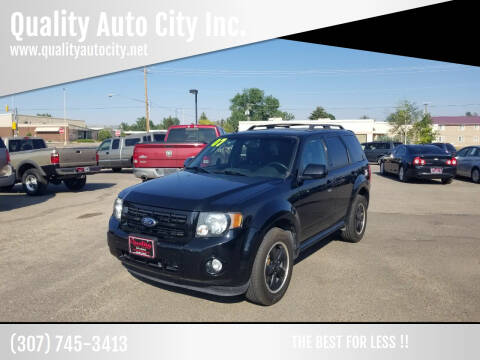 2012 Ford Escape for sale at Quality Auto City Inc. in Laramie WY