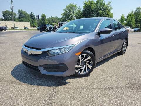 2017 Honda Civic for sale at Cruisin' Auto Sales in Madison IN