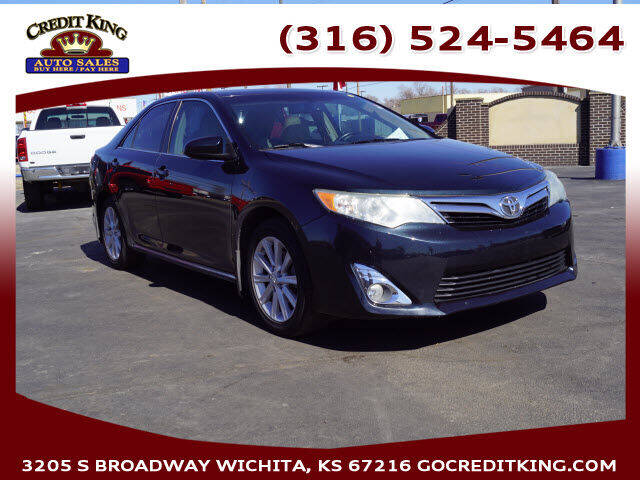 2012 Toyota Camry for sale at Credit King Auto Sales in Wichita KS