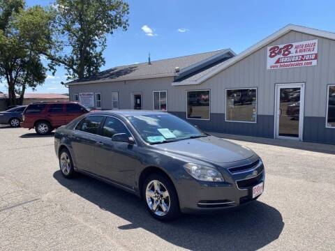 2009 Chevrolet Malibu for sale at B & B Auto Sales in Brookings SD