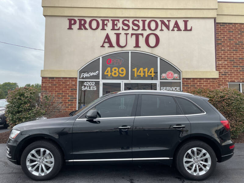 2015 Audi Q5 for sale at Professional Auto Sales & Service in Fort Wayne IN