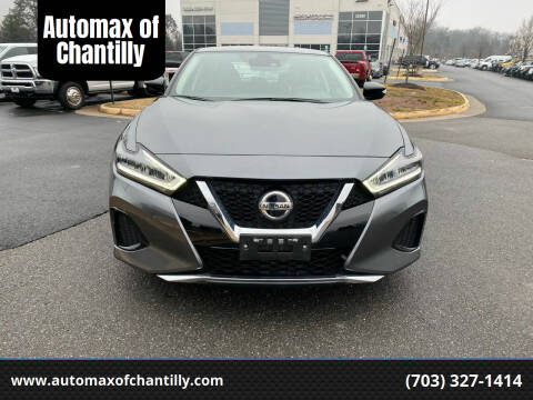 2020 Nissan Maxima for sale at Automax of Chantilly in Chantilly VA