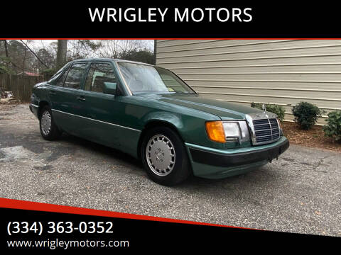 1991 Mercedes-Benz 300-Class for sale at WRIGLEY MOTORS in Opelika AL