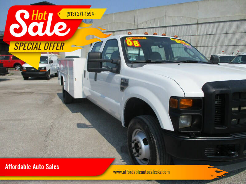 2008 Ford F-350 Super Duty for sale at Affordable Auto Sales in Olathe KS