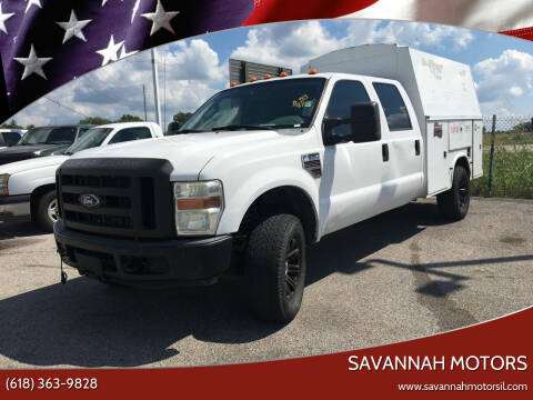 2008 Ford F-350 Super Duty for sale at Savannah Motors in Cahokia IL