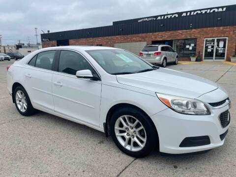 2015 Chevrolet Malibu for sale at Motor City Auto Auction in Fraser MI