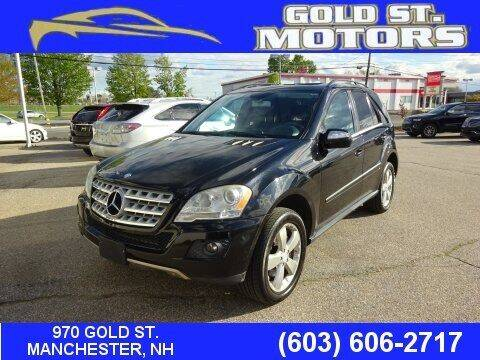 2010 Mercedes-Benz M-Class for sale at Gold St. Motors in Manchester NH