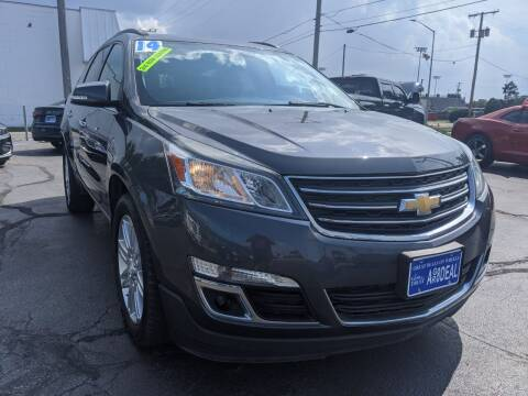 2014 Chevrolet Traverse for sale at GREAT DEALS ON WHEELS in Michigan City IN