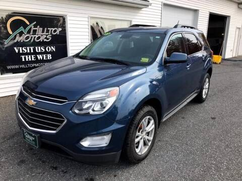 2016 Chevrolet Equinox for sale at HILLTOP MOTORS INC in Caribou ME