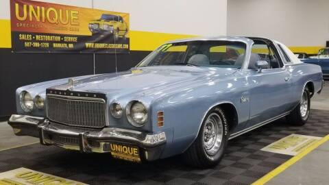 1977 Chrysler Cordoba for sale at UNIQUE SPECIALTY & CLASSICS in Mankato MN