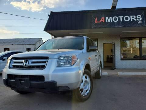 2007 Honda Pilot for sale at LA Motors LLC in Denver CO