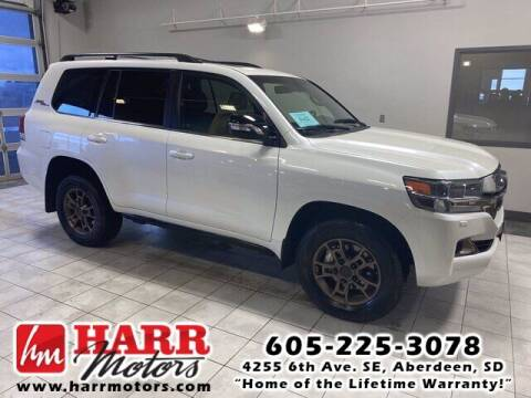 2020 Toyota Land Cruiser for sale at Harr's Redfield Ford in Redfield SD