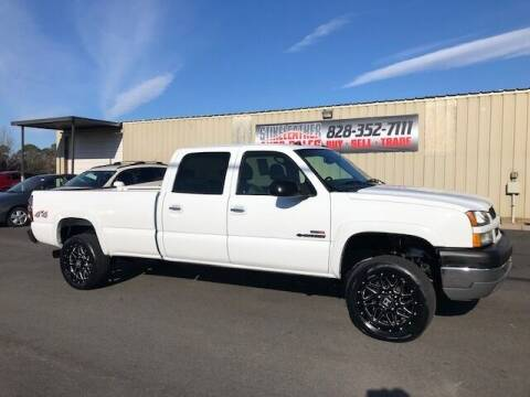2004 Chevrolet Silverado 2500HD for sale at Stikeleather Auto Sales in Taylorsville NC