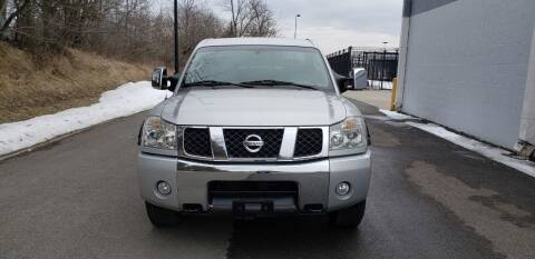 2004 Nissan Titan for sale at GREENPORT AUTO in Hudson NY