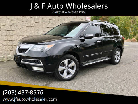 2011 Acura MDX for sale at J & F Auto Wholesalers in Waterbury CT