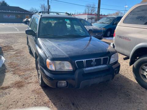 2002 Subaru Forester for sale at Fast Vintage in Wheat Ridge CO