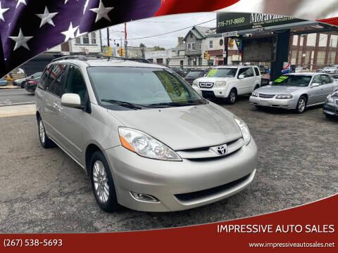 2007 Toyota Sienna for sale at Impressive Auto Sales in Philadelphia PA