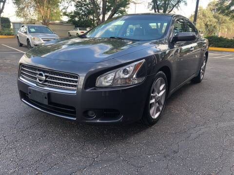 2010 Nissan Maxima for sale at Modern Auto in Denver CO