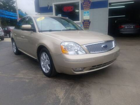 2007 Ford Five Hundred for sale at Fleetwing Auto Sales in Erie PA