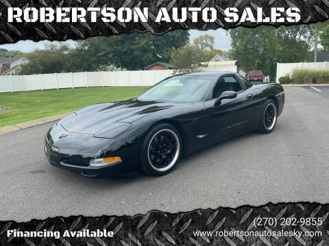 1999 Chevrolet Corvette for sale at ROBERTSON AUTO SALES in Bowling Green KY