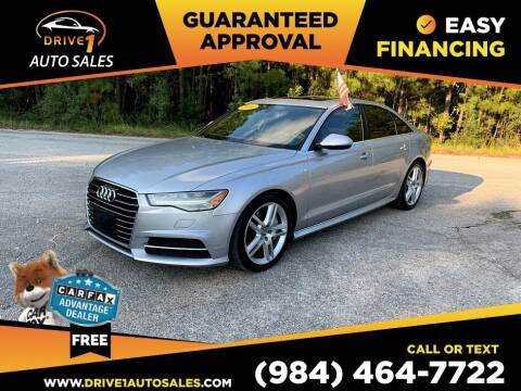 2016 Audi A6 for sale at Drive 1 Auto Sales in Wake Forest NC