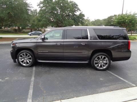 2015 Chevrolet Suburban for sale at BALKCUM AUTO INC in Wilmington NC