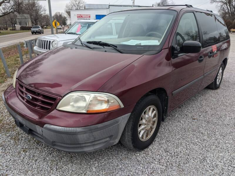 2000 Ford Windstar for sale at AUTO PROS SALES AND SERVICE in Belleville IL