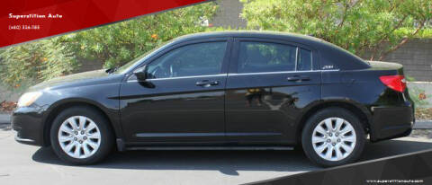 2014 Chrysler 200 for sale at Superstition Auto in Mesa AZ