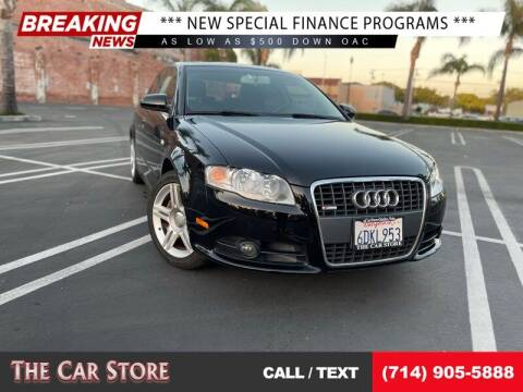 2008 Audi A4 for sale at The Car Store in Santa Ana CA