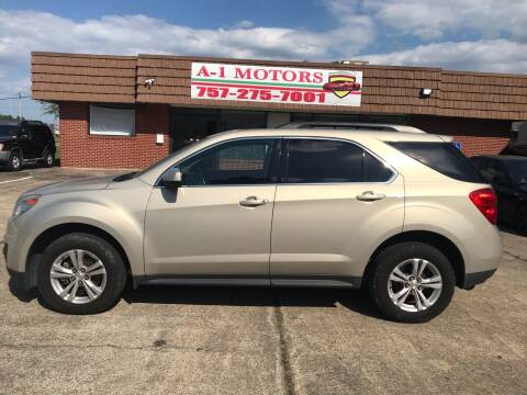 2010 Chevrolet Equinox for sale at A-1 Motors in Virginia Beach VA