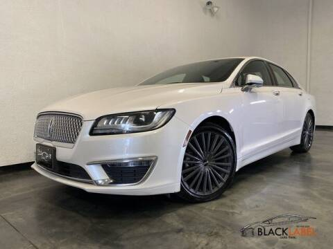2018 Lincoln MKZ for sale at BLACK LABEL AUTO FIRM in Riverside CA