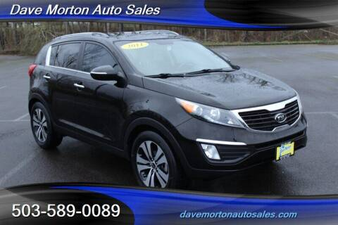 2011 Kia Sportage for sale at Dave Morton Auto Sales in Salem OR