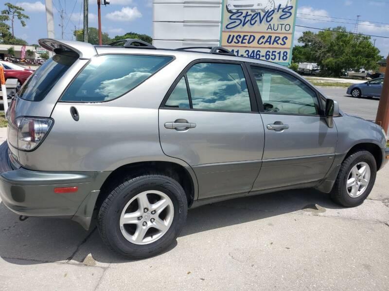 2001 Lexus RX 300 for sale at Steve's Auto Sales in Sarasota FL