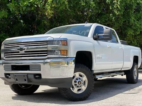 2015 Chevrolet Silverado 2500HD for sale at HIGH PERFORMANCE MOTORS in Hollywood FL