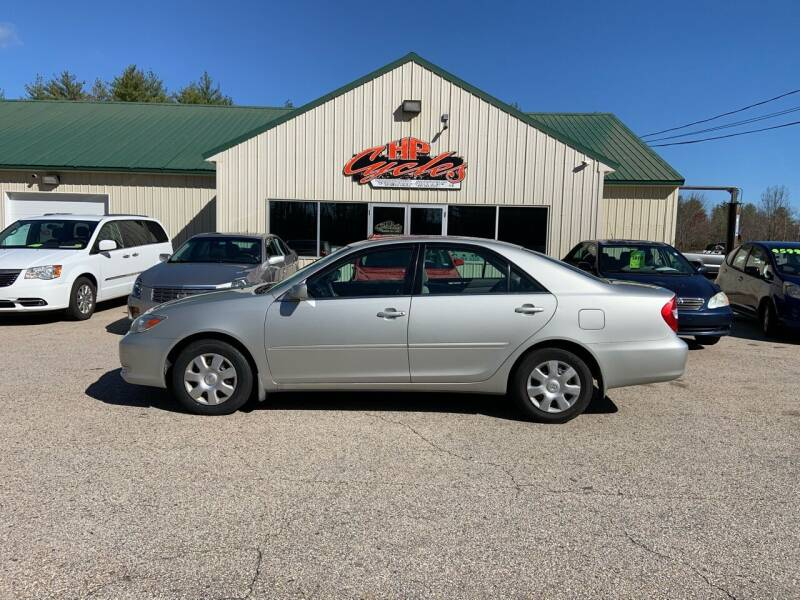 2003 Toyota Camry for sale at HP AUTO SALES in Berwick ME